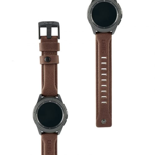 day deo samsung galaxy watch 42mm uag leather series leather brown3 bengovn