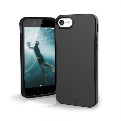op lung iphone se 2020 uag biodegradable outback black3 bengovn