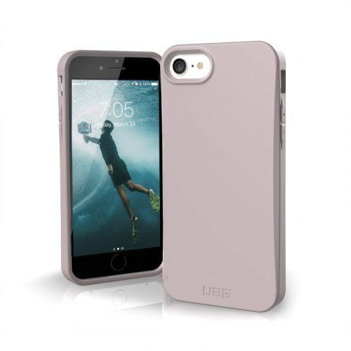 op lung iphone se 2020 uag biodegradable outback lilac bengovn