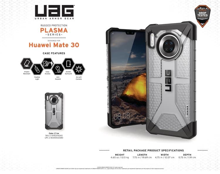 Op lung Huawei Mate 30 UAG Plasma 014 bengovn