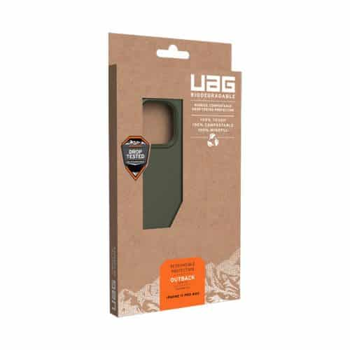 op lung iphone 11 pro max uag biodegradable outblack olive5 bengovn