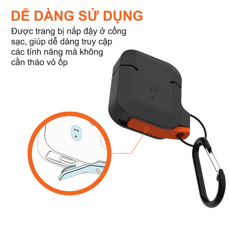 vo op airpods uag silicone rugged weatherproof2 bengovn