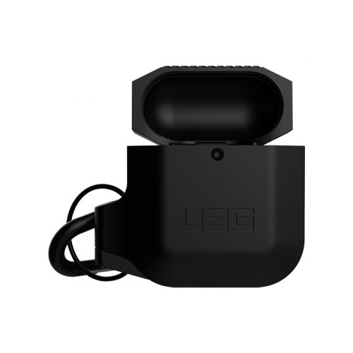 vo op airpods uag silicone rugged weatherproof black3 bengovn