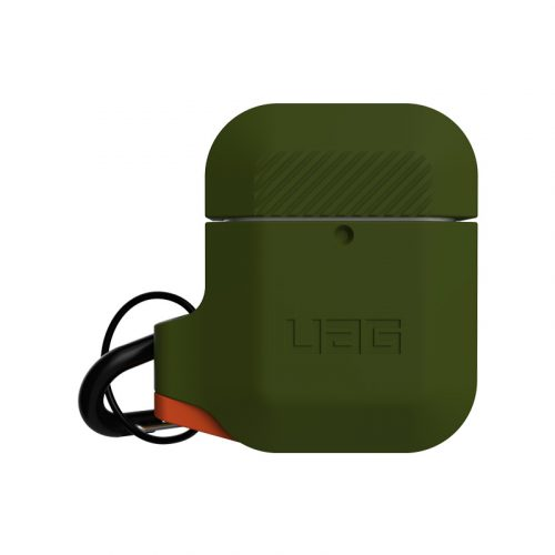 vo op airpods uag silicone rugged weatherproof olive drab1 bengovn