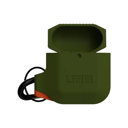 vo op airpods uag silicone rugged weatherproof olive drab2 bengovn