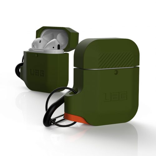 vo op airpods uag silicone rugged weatherproof olive drab4 bengovn