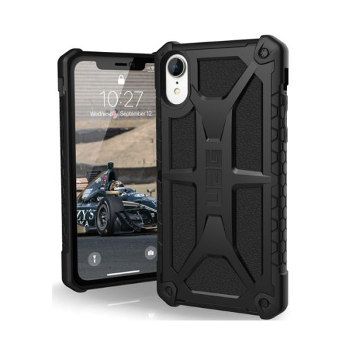 Op lung iPhone XR UAG Monarch Series Black 01 bengovn