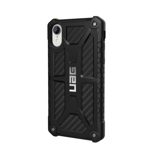 Op lung iPhone XR UAG Monarch Series Carbon Fiber 02 bengovn