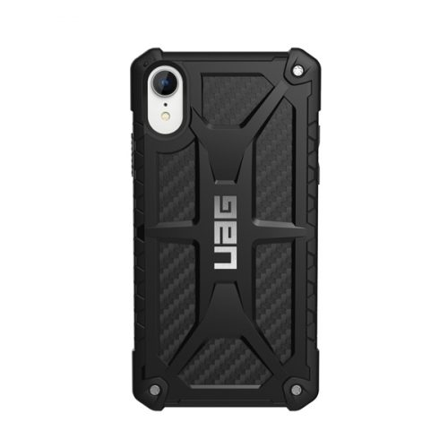 Op lung iPhone XR UAG Monarch Series Carbon Fiber 03 bengovn
