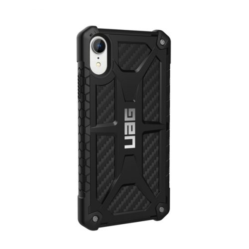 Op lung iPhone XR UAG Monarch Series Carbon Fiber 04 bengovn