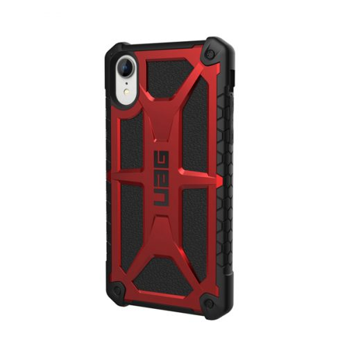 Op lung iPhone XR UAG Monarch Series Crimson 02 bengovn