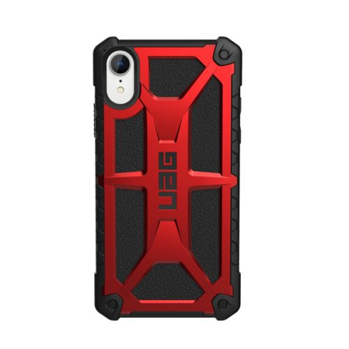 Op lung iPhone XR UAG Monarch Series Crimson 03 bengovn