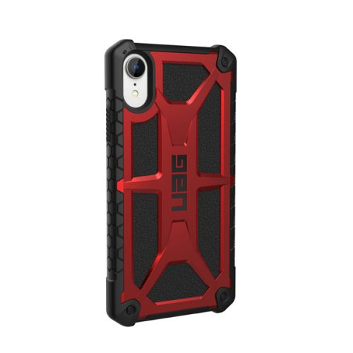 Op lung iPhone XR UAG Monarch Series Crimson 04 bengovn