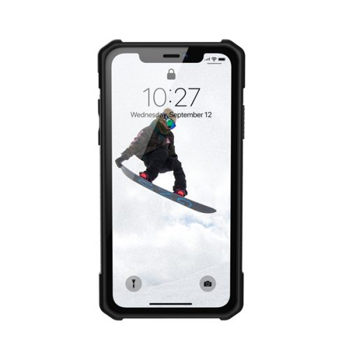 Op lung iPhone XR UAG Monarch Series Crimson 05 bengovn