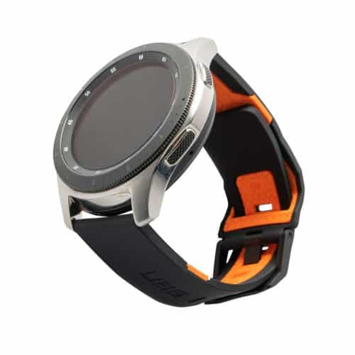 day deo samsung galaxy watch 46mm uag civilian silicone BLK ORNG bengovn1