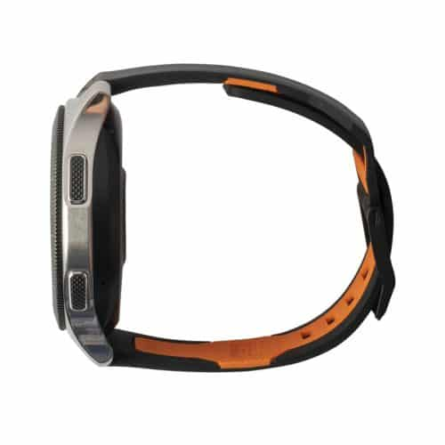 day deo samsung galaxy watch 46mm uag civilian silicone BLK ORNG2 bengovn1