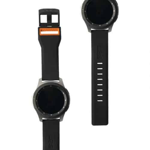 day deo samsung galaxy watch 46mm uag civilian silicone BLK ORNG5 bengovn1