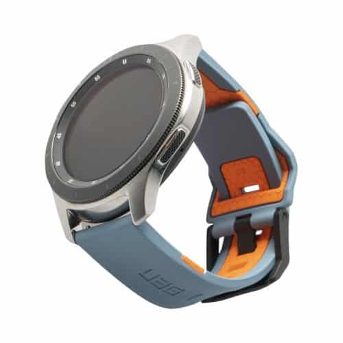 day deo samsung galaxy watch 46mm uag civilian silicone SLATE ORNG bengovn1