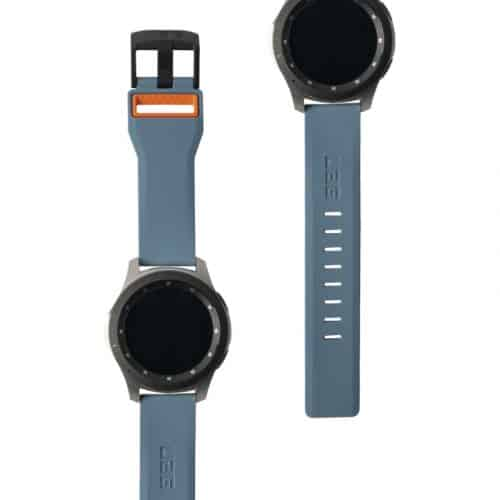 day deo samsung galaxy watch 46mm uag civilian silicone SLATE ORNG5 bengovn1