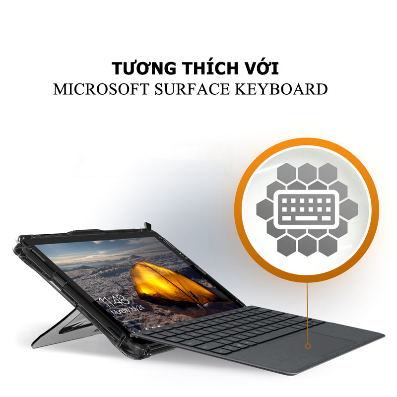 Op lung Microsoft Surface Pro 6 5 4 UAG Plyo 09 bengovn