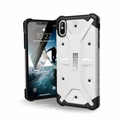 op lung iPhone Xs Max UAG Pathfinder Series TIKI white 01 bengovn