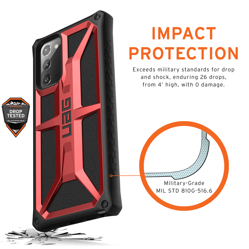 Op lung Samsung Galaxy Note 20 UAG Monarch Series 22 bengovn