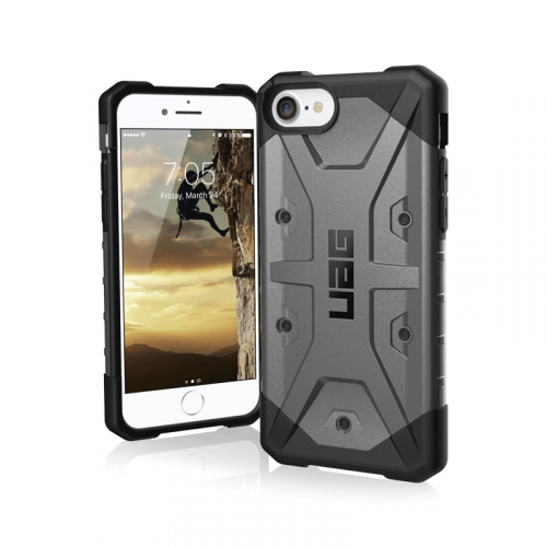 Op lung iPhone SE 2020 UAG Pathfinder Series Silver 09 bengovn