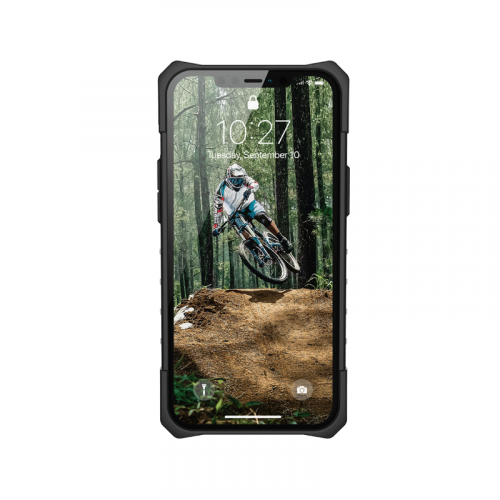 Op lung iPhone 12 Pro Max UAG Plasma Series ash 03 Bengovn