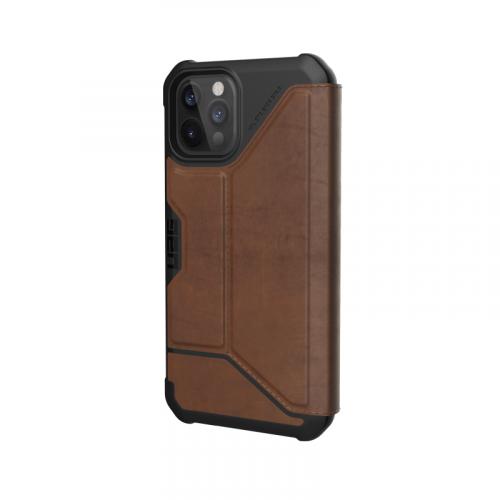 Bao da iPhone 12 12 Pro UAG Metropolis Series LTHR Brown 11 bengovn