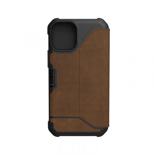 Bao da iPhone 12 12 Pro UAG Metropolis Series LTHR Brown 14 bengovn