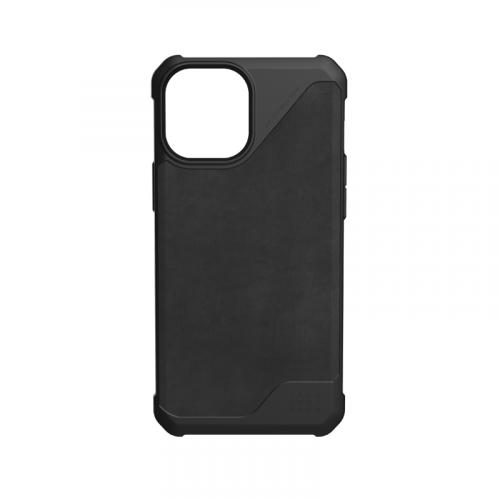 Op lung iPhone 12 12 Pro UAG Metropolis LT Series LTHR Black 10 bengovn