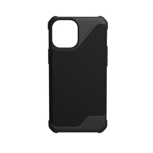 Op lung iPhone 12 12 Pro UAG Metropolis LT Series SATN Black 18 bengovn1