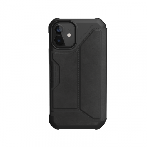 Bao da iPhone 12 Mini UAG Metropolis Series Leather Black 08 bengovn