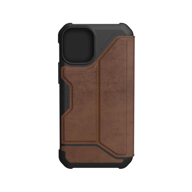 Bao da iPhone 12 Mini UAG Metropolis Series Leather Brown 09 bengovn