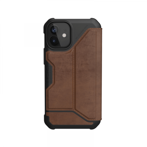 Bao da iPhone 12 Mini UAG Metropolis Series Leather Brown 11 bengovn