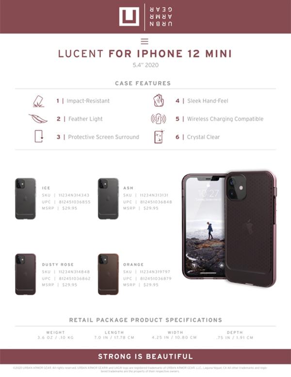 Op lung iPhone 12 Mini UAG U Lucent Series 29 bengovn