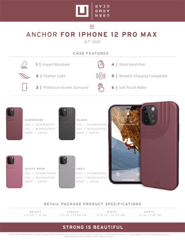 Op lung iPhone 12 Pro Max UAG U Anchor Series 27 bengovn