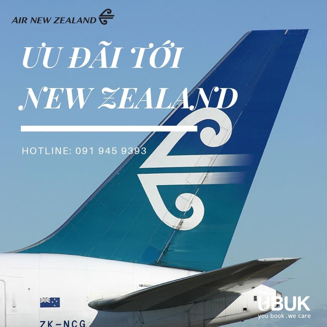 AIR NEW ZEALAND MỞ BÁN KHUYẾN MẠI