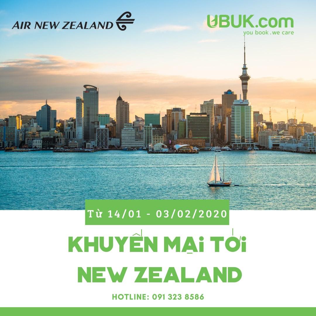 KHUYẾN MẠI HẤP DẪN TỪ AIR NEW ZEALAND