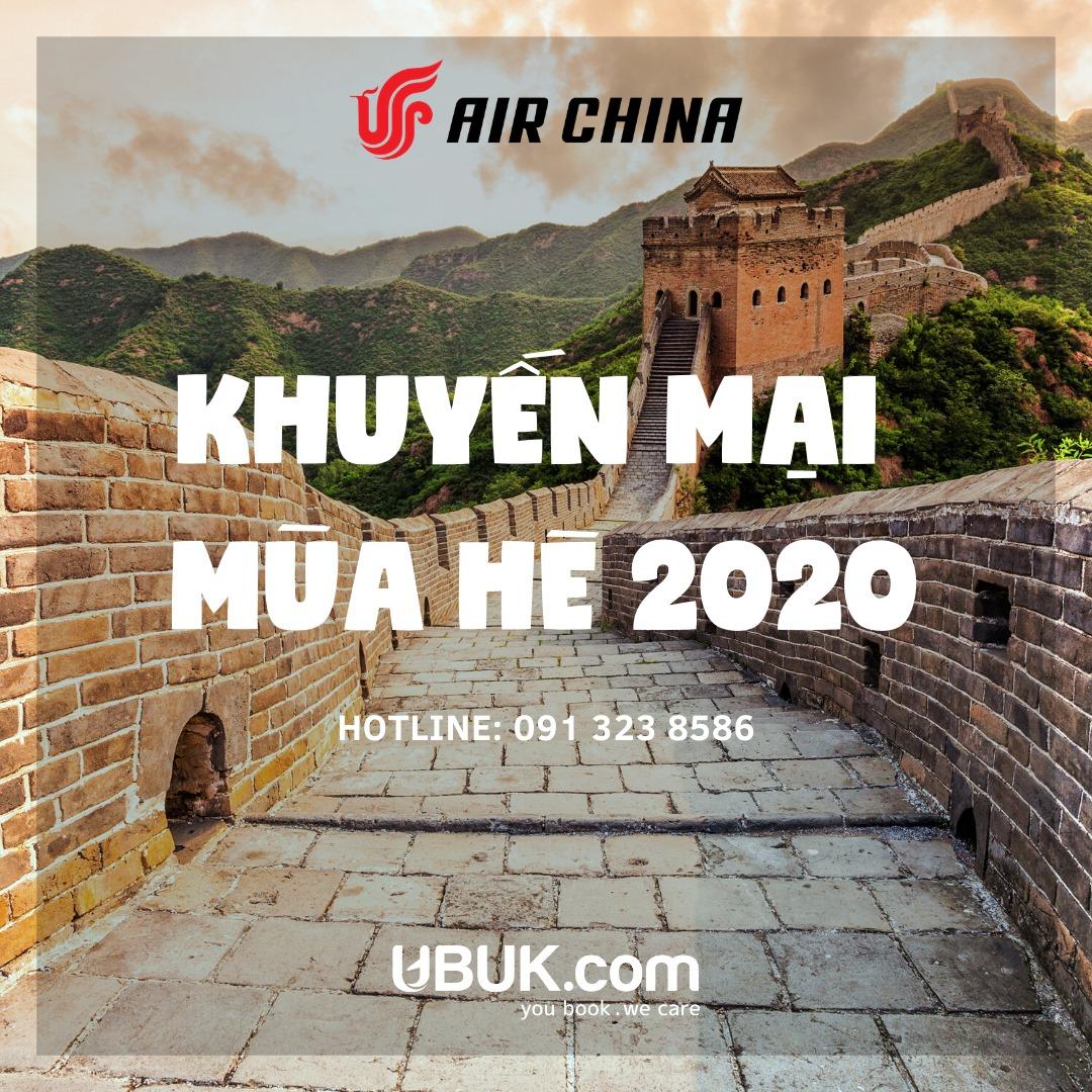AIR CHINA KHUYẾN MẠI MÙA HÈ 2020