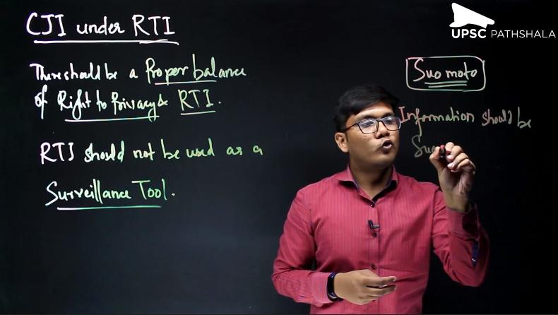 CJI under RTI