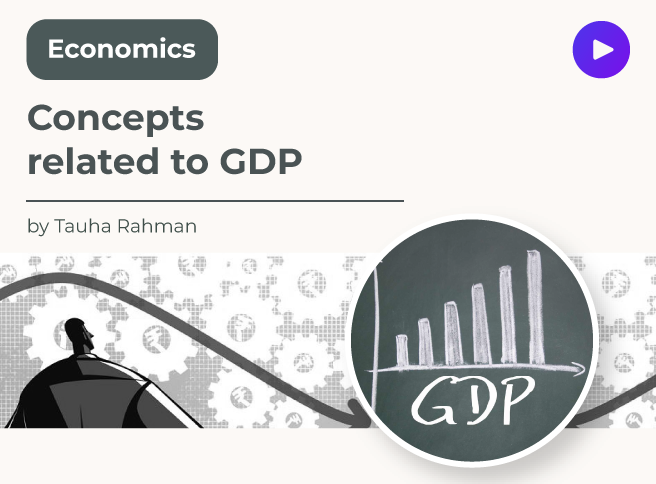 Concepts related to GDP