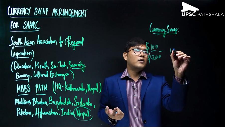 Currency Swap Arrangement for SAARC