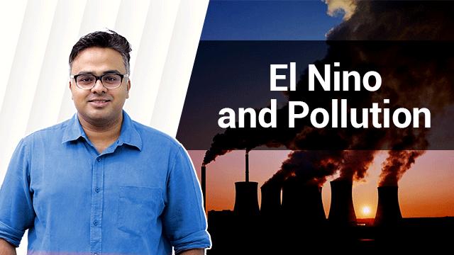 El Nino and Pollution