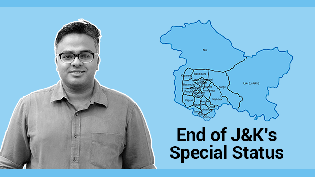 End of J&K's Special Status