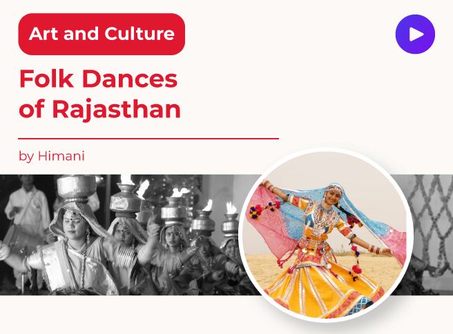 Folk Dances of Rajasthan