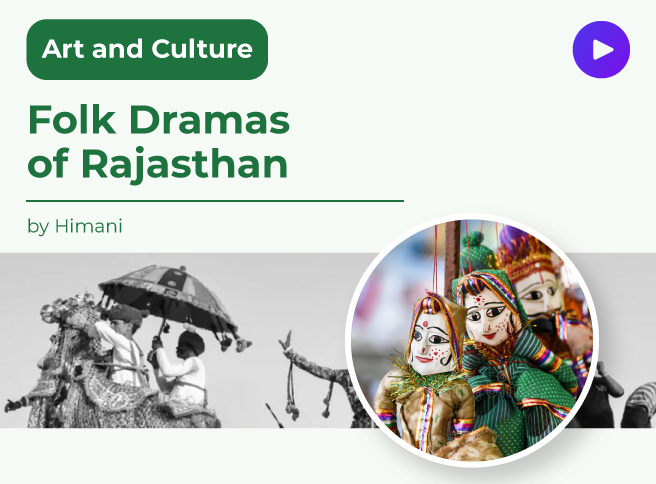 Folk dramas of Rajasthan