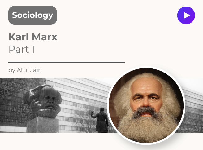 Karl Marx Part 1