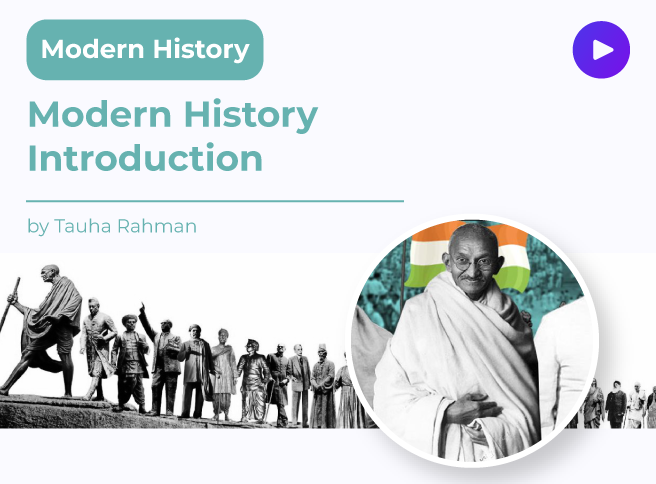 Modern History Introduction