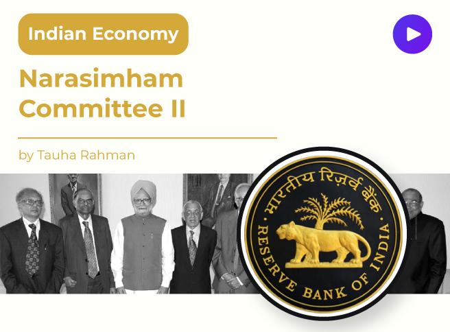Narasimham Committee II